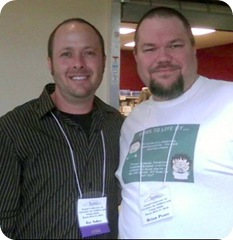 Jay Asher and me - 2010