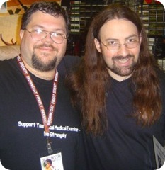 Jim Butcher and me - 2006